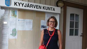 Kyyjärven kunnanjohtaja Tiina Pelkonen