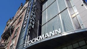 Stockmannin julkisivu Helsingissä