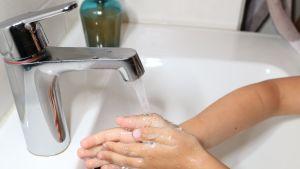 Käsienpesu