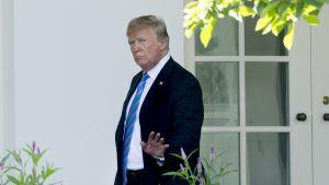 Yhdysvaltain presidentti Doinald Trump