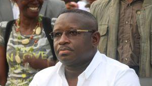Sierra Leonen presidentti Julius Maada Bio
