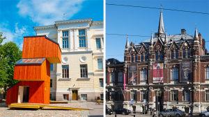 Arkkitehtuurimuseo ja Designmuseo.