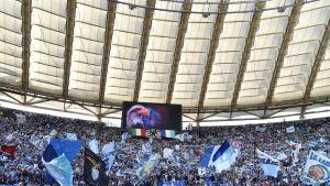 Stadio Olimpicon Curva Nord eli kannattajakatsomonosa.