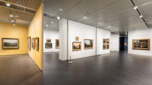 Veljekset von Wright -näyttely Kuopion taidemuseossa. Kuopion taidemuseon lähettämä kuva.