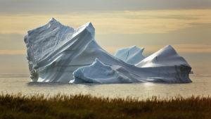 Jäävuori Grönlannissa.
