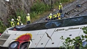 Onnettomuusbussi.
