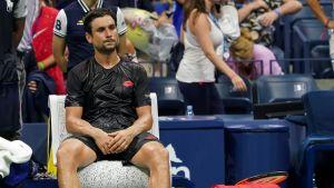 David Ferrer US Openissa 2018.