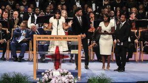 Aretha Franklinin hautajaiset
