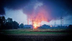 Räjähdys Saksassa.