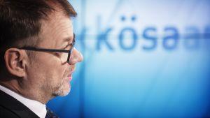 Juha Sipilä Ykkösaamussa.