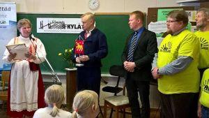 Teuro-Kuuslammi kylän palkitseminen vuoden hämäläiseksi kyläksi 2018
