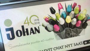 Johan Oy nettisivut