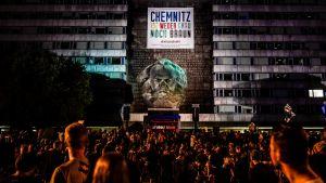 Ulkoilmakonsertti Chemnitzissä