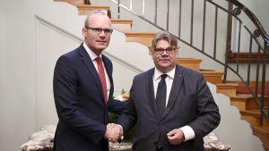 Simon Coveney ja Timo Soini.