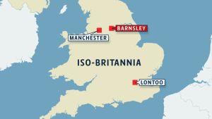 Kartta, Iso-Britannia