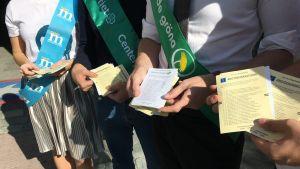 Ruotsissa valtiopäivävaaleissa äänestetään ensisijaisesti puoluetta.