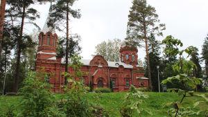 Pyhän ristin ortodoksikirkko Sakaristonmäellä