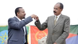 Abiy Ahmed ja Isaias Afwerki