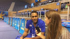 Ariel Sainz Rodriguez haastattelussa.