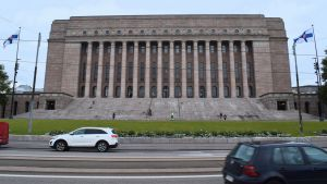 Finnish parliament building.