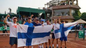 Suomen joukkue Davis Cupissa