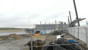 Rovaniemen lentoaseman laajennus syyskuu 2018