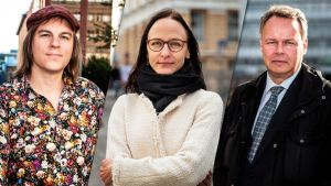 Frank Martela, Henrietta Grönlund ja Juho Saari
