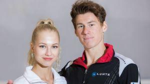 Juulia Turkkila ja Matthias Versluis