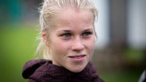 Alisa Vainio Kullervon SM-maratonilla