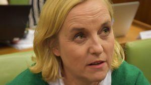 Porin kaupunginvaltuutettu Anne Liinamaa (vihr.)
