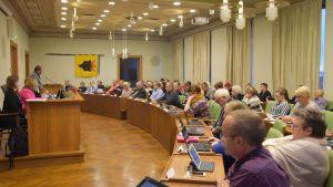 Porin kaupunginvaltuusto kokouksessaan 24.9.2018