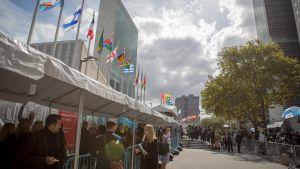 YK:n yleiskokous käynnistyy New Yorkissa 25. syyskuuta.
