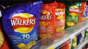 Walkers-perunalastupusseja