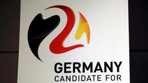 Saksan EM-jalkapallohanke kuvassa