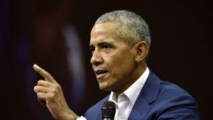 Barack Obama Helsingissä