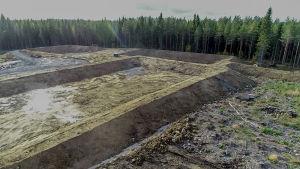 Valkeakosken Kaapelinkulma, kultakaivosalue.