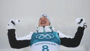 Iivo Niskanen teki Olli Ohtosen kanssa oikeita ratkaisuja harjoittelussaan ja tästä tuloksena oli olympiakultaa.