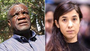 Denis Mukwege ja Nadia Murad