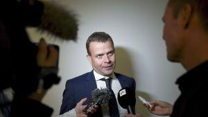 Valtiovarainministeri, kokoomuksen puheenjohtaja Petteri Orpo.