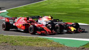 Kimi Räikkönen Max Verstappen