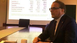 Kaupunginjohtaja Pekka Timonen