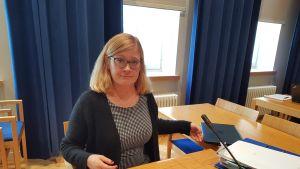 Anna Mäkelä Lapin käräjäoikeudessa 9.10.2018.