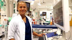 Triathlonisti Aino Luoman tähtäin on korkealla myös työelämässä, sillä hän valmistui lääkäriksi vuonna 2015.