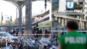Kölnin päärautatieasemaa jouduttiin sulkemaan junaliikenteeltä useiksi tunneiksi.