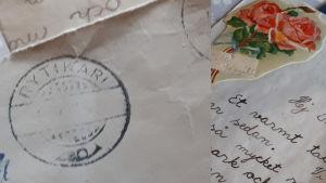 Vanhat käsinkirjoitetut kirjeet