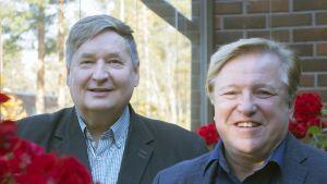 Markku Rossi ja Matti Kaarlejärvi.