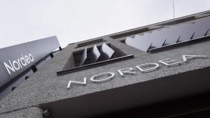 Pankkikonserni Nordean pääkonttori Aleksis Kiven kadulla Helsingissä.