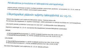 Kuvakaappaus Jyväskylän kaupungin verkkosivuilta