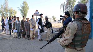 Afghanistanin vaalipäivä.