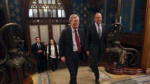 John Bolton ja Sergei Lavrov tapaavat Moskovassa.